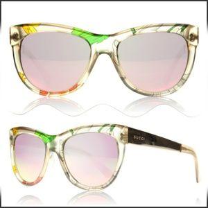 4bdc59b9c5c Women s Gucci Mirrored Sunglasses on Poshmark
